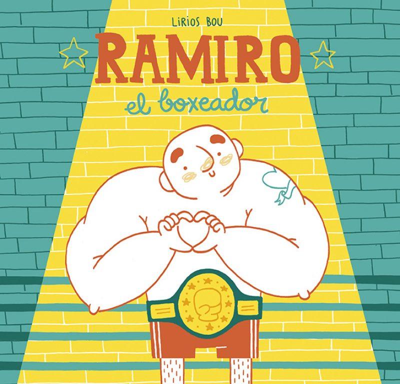 ramiro_boxeador_album_infantil_liriosbou_portada